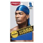 Red by Kiss Men's Premium Silky Satin Durag Royal Blue